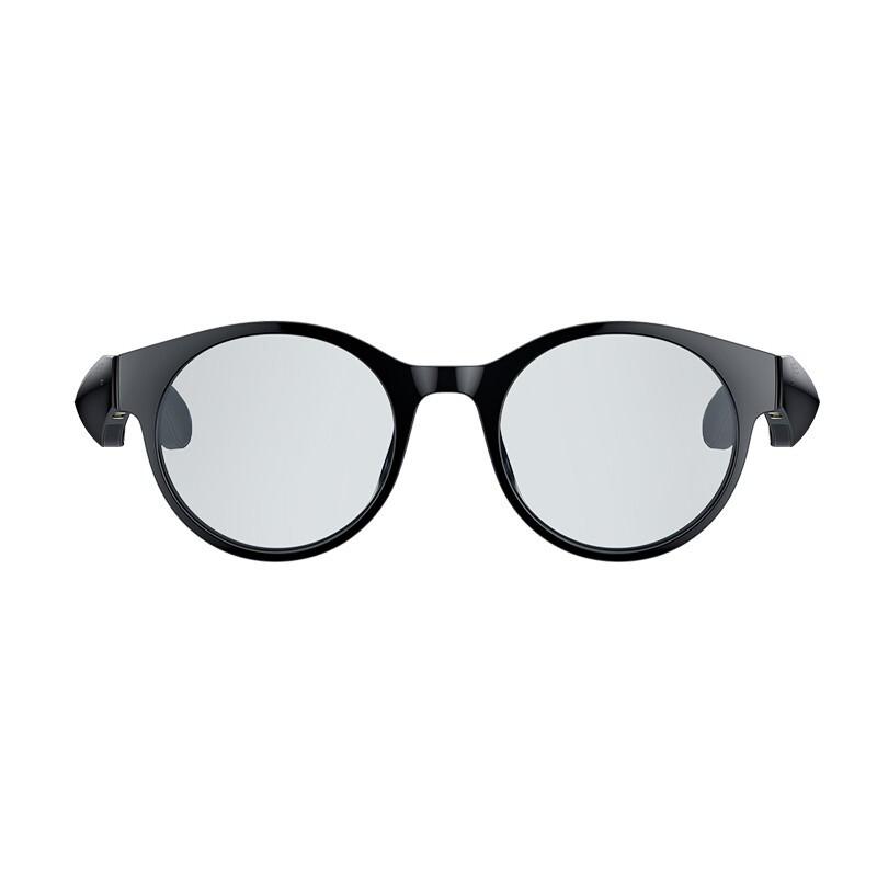RAZER 雷蛇 Anzu Smart Glasses 智能眼镜 圆形镜框防蓝光 + 可替换太阳镜片 S/M