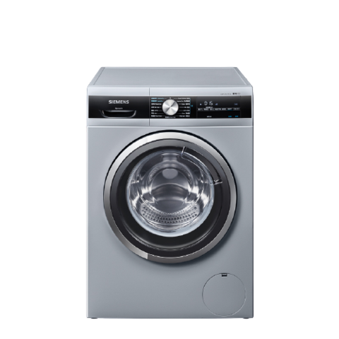 SIEMENS 西门子 西门子(SIEMENS) 8公斤 变频洗烘一体机 5kg烘干 99.9%热风除菌  即洗即干 XQG80-WD12G4M82W