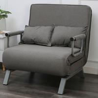 京东PLUS会员:SHTS 施豪特斯 804-80 多用沙发折叠床 灰色