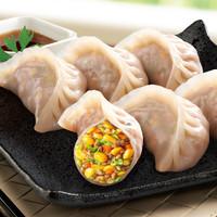 CP正大 玉米蔬菜猪肉蒸饺690g*4件+广州酒家流沙包/核桃包750g*2件(蒸饺14.1元/袋)