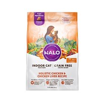 HALO 自然光环 健美系列 鸡肉成猫粮 10磅