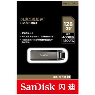 SanDisk 闪迪 CZ810 USB3.2 固态 U盘 黑色 128GB USB