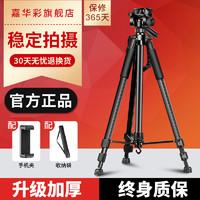 相机三脚架单反便携摄影摄像微单专业三角架适用于佳能尼康富士户外通用拍照手机自拍vlog两用直播支架补光灯