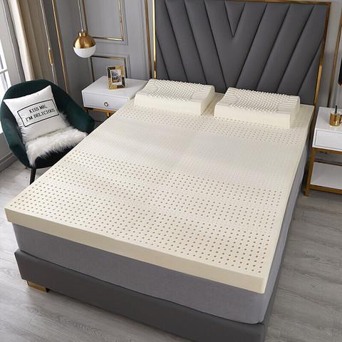 移动端:琳豆豆 泰国乳胶床垫 平板舒适款5厘米 90*190含内外套