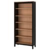 IKEA 宜家 HEMNES 汉尼斯 书架 90*198cm 黑褐色+浅褐色