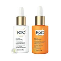 RoC 洛克 多重修护维生素C焕活亮彩精华液 30ml+视黄醇A醇线雕紧致精华液 30ml
