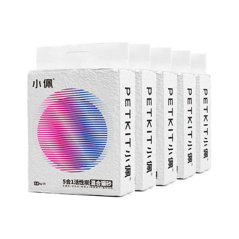 PETKIT 小佩 活性炭混合猫砂 7L