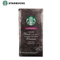 京东PLUS会员:Starbucks 星巴克 咖啡豆 法式烘焙 1130g