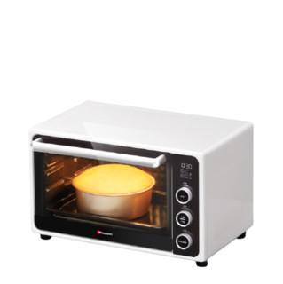 Hauswirt 海氏 海氏i3搪瓷家用烘焙迷你电烤箱小型32L升大容量多功能智能烤箱