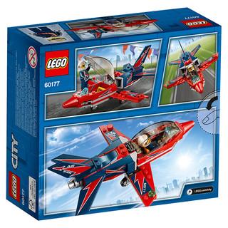 LEGO 乐高 City城市系列 60177 空中特技喷气机