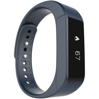 iWOWN 埃微 i5Plus 智能手环 黑色 午夜蓝硅胶表带