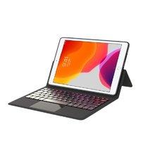 Smorss iPad Air 3 皮质键盘平板保护套 黑色