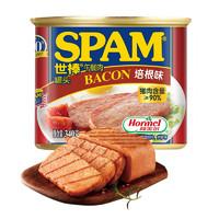 SPAM 世棒 午餐肉 培根味 340g罐