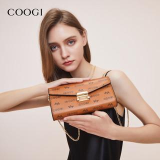 COOGI E306227215 女士环保彩印手抓斜挎包