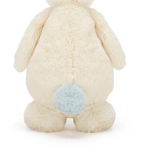 jELLYCAT 邦尼兔 绒球尾巴小兔 毛绒玩具 天蓝色 22cm