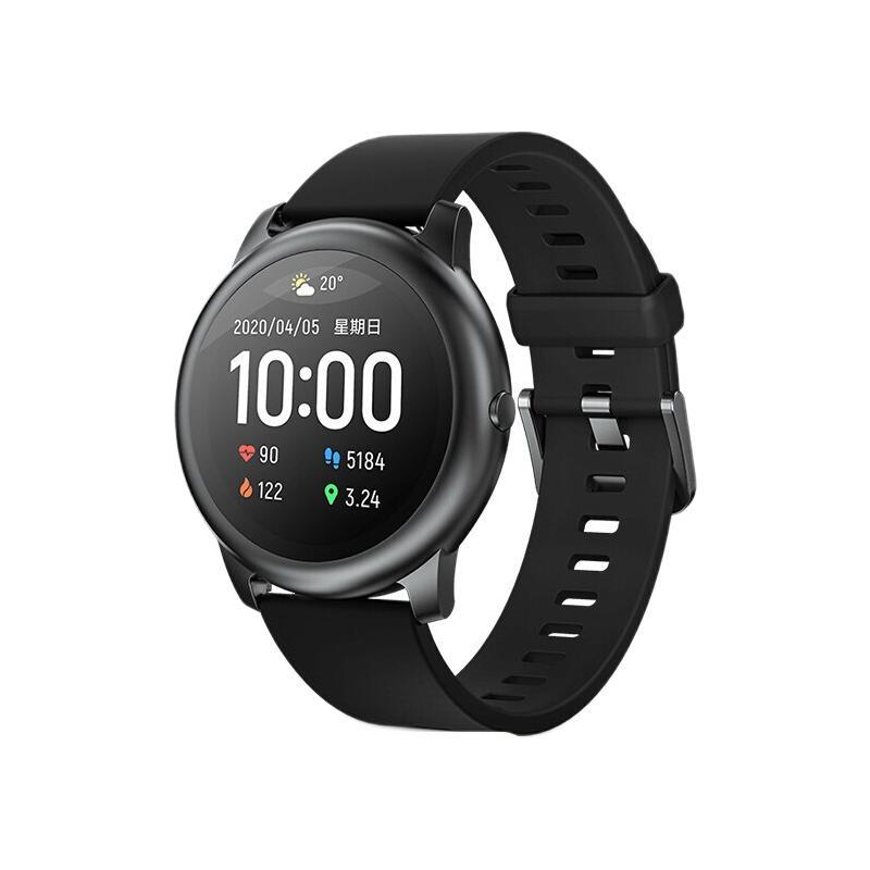 Haylou 嘿喽 LS05 智能手表 45.3mm 黑色 金属表盘(GPS)