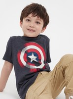 Gap 盖璞 x Marvel漫威系列 儿童印花短袖T恤