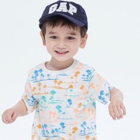 Gap 盖璞 幼儿布莱纳小熊系列 童趣印花圆领T恤
