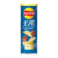 Lay's 乐事 无限薯片 吮指红烧肉味 104g