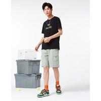 A21 R412116026 男士休闲工装短裤