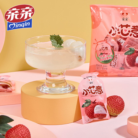 亲亲小芯意果味果冻乳酸菌儿童休闲零食布丁可吸蒟蒻果汁果冻0脂