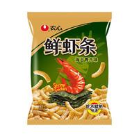 学生专享:NONGSHIM 农心 海苔青芥味鲜虾条 130g