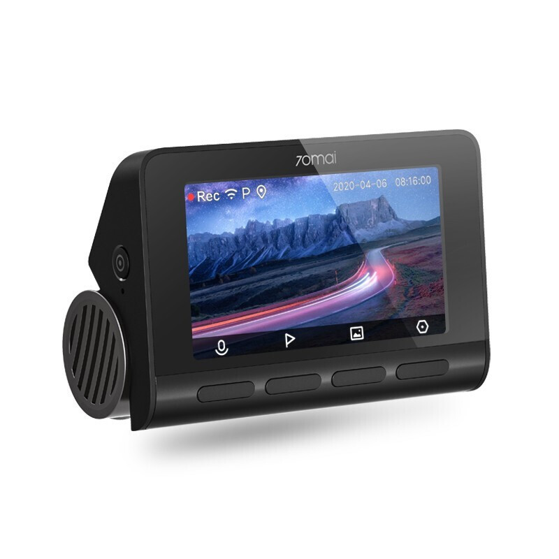 70迈 A800 行车记录仪 双镜头 高清后拉(内)+降压线