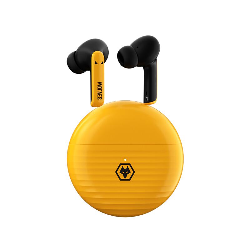 Tezo TT15B 入耳式真无线蓝牙耳机 黄色