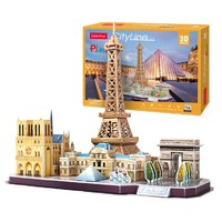 CubicFun 乐立方 3D立体拼图拼装玩具 伦敦 多款可选