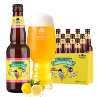 优布劳 幼兽系列 12度柠檬精酿啤酒 水果酒 300ml*12瓶 整箱装