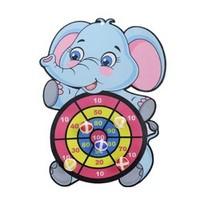 KIDNOAM 飞镖玩具黏黏球 6球 +挂钩 3款标靶可选