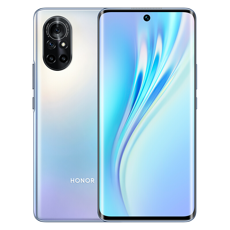 HONOR 荣耀  V40 轻奢版 5G手机 8GB+128GB 钛空银
