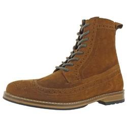 CREVO Walkins 男士麂皮系带短靴