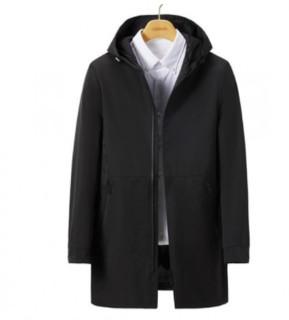 Hodo 红豆 DXIBF009SQS1 男士中长款风衣外套
