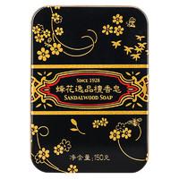 京东PLUS会员 : BEE&FLOWER 蜂花  逸品黑底金线檀香皂 150g
