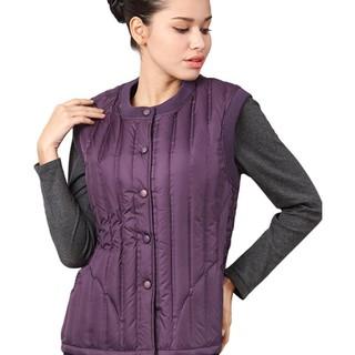 SHIWANG 世王  女士羽绒马甲 R1007 紫色 XXXL