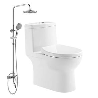 HUIDA 惠达  卫浴套装 HDC6269马桶+HWB5010花洒