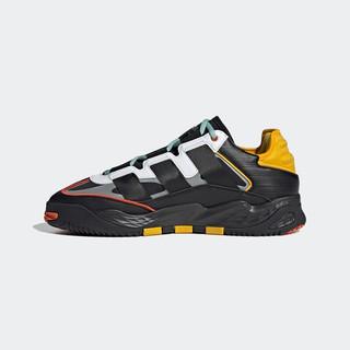 阿迪达斯官网 adidas 三叶草 NITEBALL 男鞋经典运动鞋GZ2800 黑/白/黄/绿/银色/橙色 41(255mm)