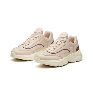 ANTA 安踏 女运动休闲鞋时尚百搭潮流街头风户外徒步百搭老爹鞋跑步鞋