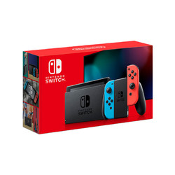 Nintendo 任天堂 港版 Switch游戏主机 续航增强版 红蓝