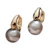 静风格 B1912022 925银针珍珠耳环