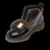 MADEN 马登 Heritage系列 男士中筒马丁靴 MD1907089 加绒款 黑色 39