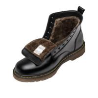 MADEN 马登 Heritage系列 男士中筒马丁靴 MD1907089 加绒款 黑色 43