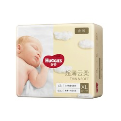 HUGGIES 好奇 金装纸尿裤 XL 37片