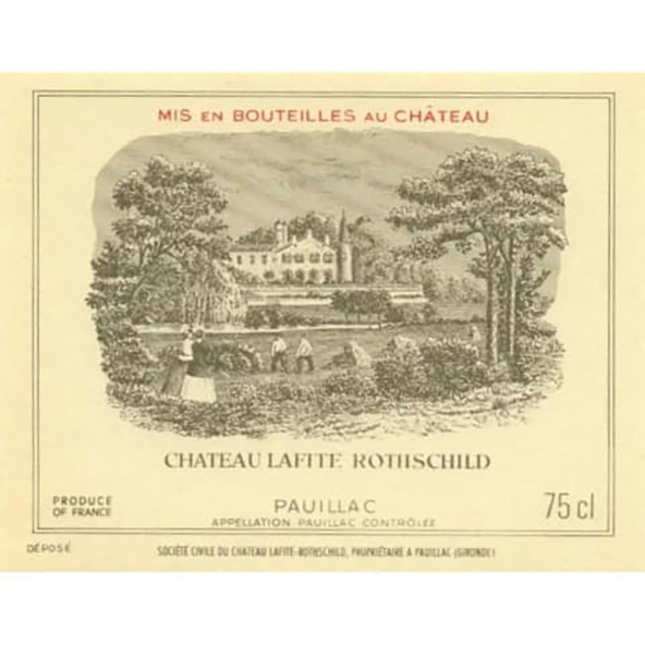 CHATEAU LAFITE ROTHSCHILD 拉菲古堡 拉菲古堡波亚克干型红葡萄酒 1998年