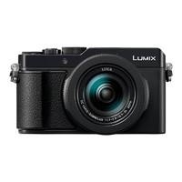 Panasonic 松下 LX100M2 1.33英寸数码相机(24-75mm、F1.7-2.8)黑色