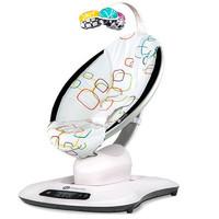 4moms 4.0頂配版 嬰兒搖椅 銀色圈