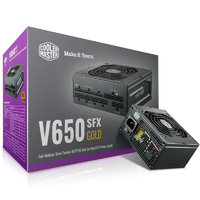 COOLERMASTER 酷冷至 V650 GOLD 金牌(90%)全模组SFX电源 650W