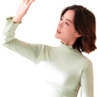 昊博 女士中领保暖内衣 HFTC2710 浅绿 XL