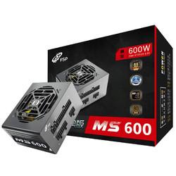 FSP 全汉 MS 600 经典版 无模组线版 SFX电源 600W